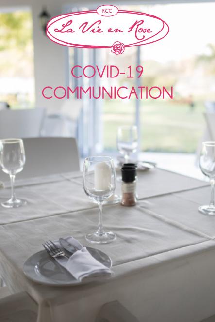 KCC La Vie en Rose - Covid-19 Communication